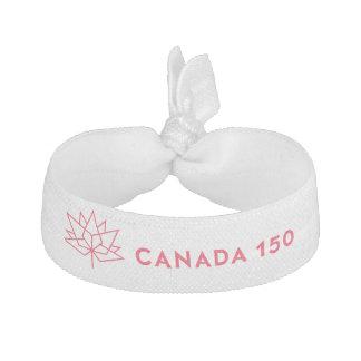 Logo de fonctionnaire du Canada 150 - contour Élastiques À Cheveux