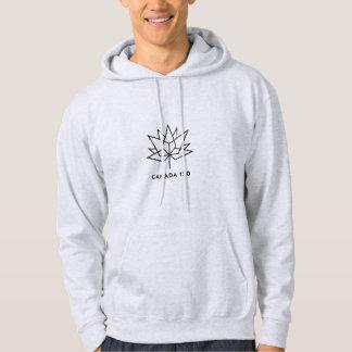 Logo de fonctionnaire du Canada 150 - contour noir Veste À Capuche