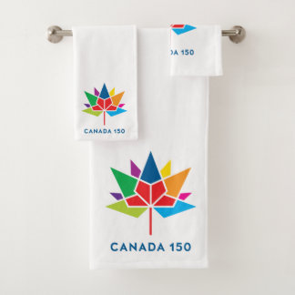 Logo de fonctionnaire du Canada 150 - multicolore