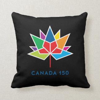Logo de fonctionnaire du Canada 150 - multicolore Coussin Décoratif