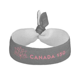 Logo de fonctionnaire du Canada 150 - noir et Élastiques Pour Cheveux