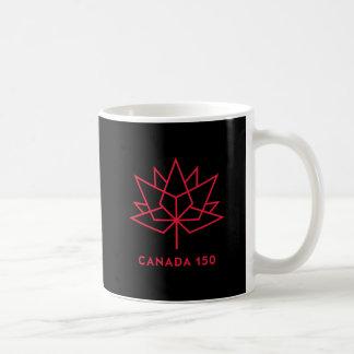 Logo de fonctionnaire du Canada 150 - noir et Mug