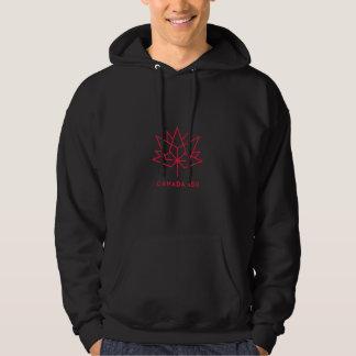 Logo de fonctionnaire du Canada 150 - noir et Veste À Capuche