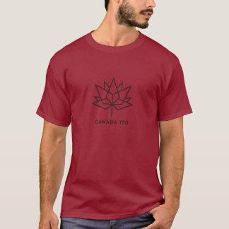 Logo de fonctionnaire du Canada 150 - rouge et T-shirt