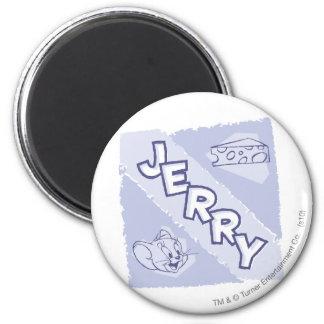 Logo de fromage bleu de Jerry Magnet Rond 8 Cm