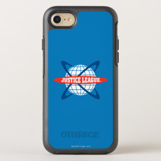 Logo de globe de ligue de justice coque otterbox symmetry pour iPhone 7