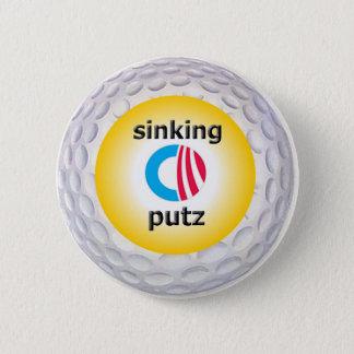 Logo de golf d'Obama Badges