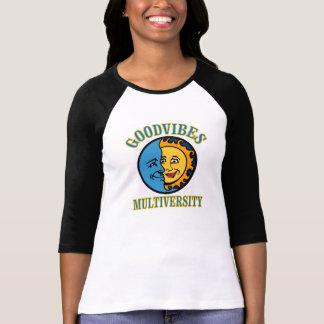 Logo de GoodVibes Multiversity T-shirt