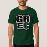Logo de GREC la semaine coupé (pour des milieux T-shirt