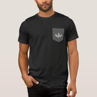 Logo de griffon de pièce en t de poche de Niani de T-shirt