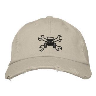 Logo de jeeps de difficulté - casquette de