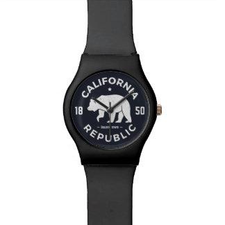 Logo | de la Californie le Golden State Montres