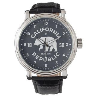 Logo | de la Californie le Golden State Montres Bracelet