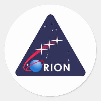 Logo de la NASA Orion Adhésifs Ronds