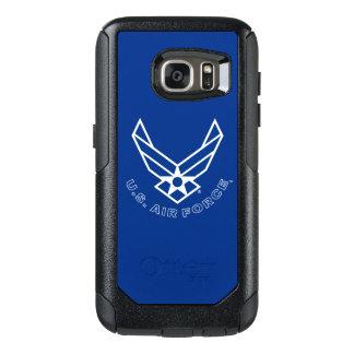 Logo de l'Armée de l'Air - bleu Coque OtterBox Samsung Galaxy S7