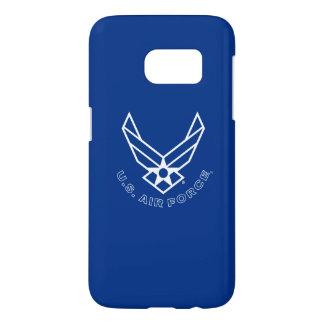 Logo de l'Armée de l'Air - bleu Coque Samsung Galaxy S7