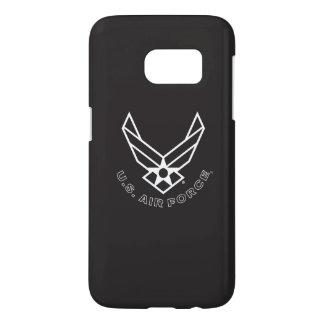 Logo de l'Armée de l'Air - noir Coque Samsung Galaxy S7