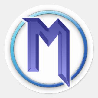 Logo de l'autocollant Mw3boy161 Sticker Rond