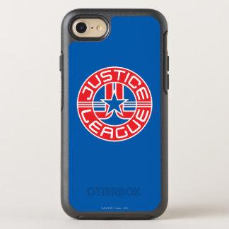 Logo de ligue de justice coque otterbox symmetry pour iPhone 7