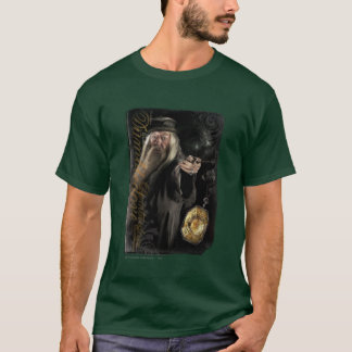 Logo de manuscrit de Dumbledore T-shirt
