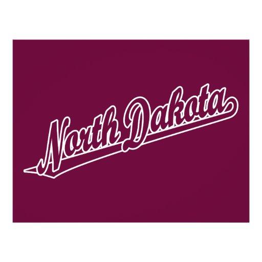 Logo de manuscrit du Dakota du Nord dans le contou Prospectus