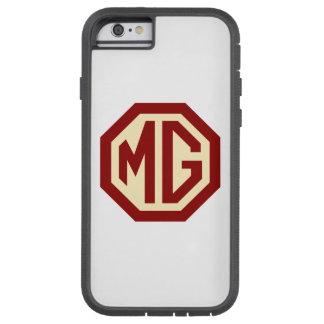Logo de MG de rouge et d'or Coque iPhone 6 Tough Xtreme