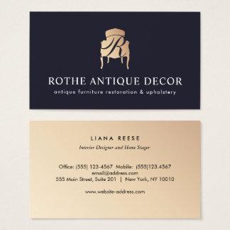 Cartes de visite tapissier - Marchand de meubles ...