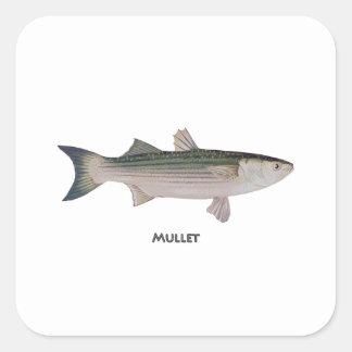 Logo de mulet sticker carré