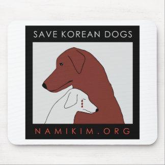 logo de NamiKim.org Tapis De Souris