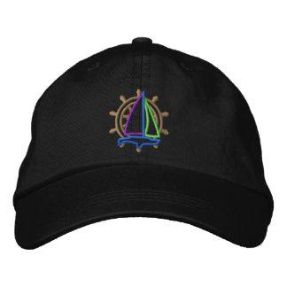 Logo de navigation casquette brodée