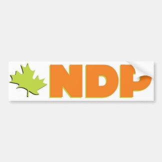 Logo de NDP Autocollant De Voiture