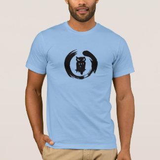 Logo de noir de zen de huée d'équipe t-shirt