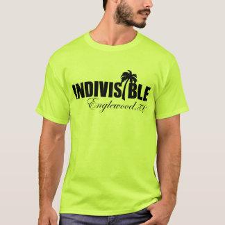 Logo de noir du T-shirt des hommes indivisibles