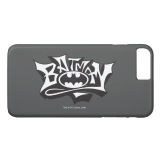 Logo de nom de graffiti de Batman | Coque iPhone 8 Plus/7 Plus