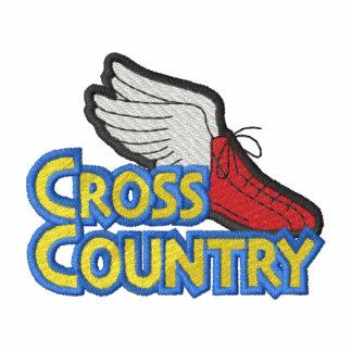 Logo de pays croisé embroidered shirts