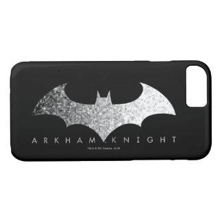 Logo de pixel de chevalier de Batman Arkham Coque iPhone 7