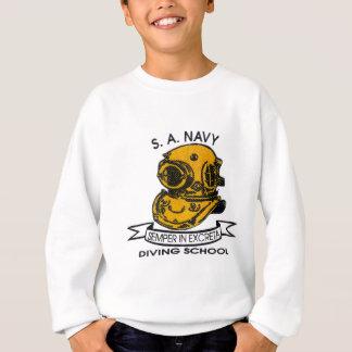 logo de plongeur sweatshirt