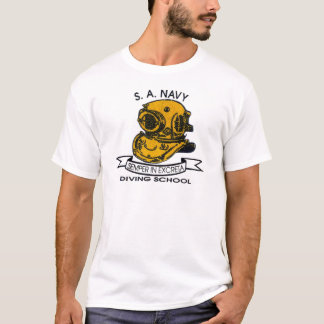 logo de plongeur t-shirt
