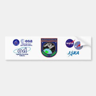 Logo de programme de Station Spatiale Autocollant Pour Voiture