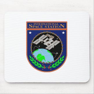 Logo de programme de Station Spatiale Internationa Tapis De Souris