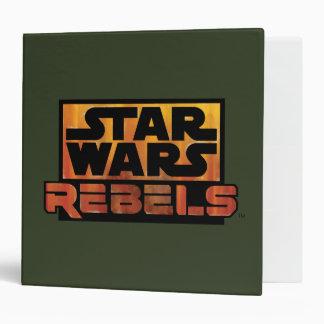 Logo de rebelles de Star Wars Classeur 5,08 Cm
