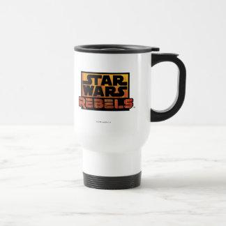 Logo de rebelles de Star Wars Mug De Voyage En Acier Inoxydable