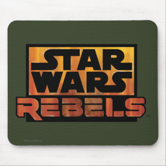 Logo de rebelles de Star Wars Tapis De Souris