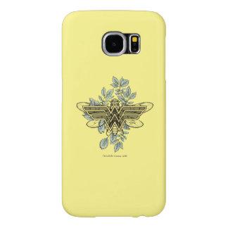 Logo de reine des abeilles de femme de merveille