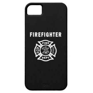 Logo de sapeur-pompier coque iPhone 5 Case-Mate