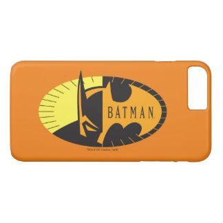 Logo de silhouette du symbole | de Batman Coque iPhone 7 Plus