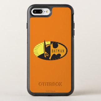 Logo de silhouette du symbole | de Batman Coque OtterBox Symmetry iPhone 8 Plus/7 Plus