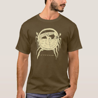 Logo de sirène et T-shirt de vents commerciaux