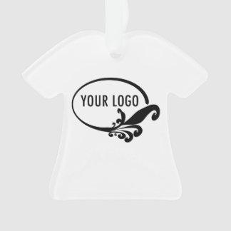 Logo de T-Shirt Acrylic Ornament Company
