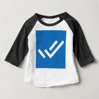 Logo de tâche de foyer t-shirt pour bébé